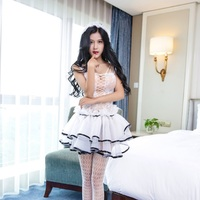 New Sexy Lingerie Nurse Suit Sexy Underwear Intimates Exotic Apparel COSPLAY Pure Dress Hat Set Girl