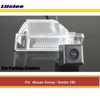Car Reverse Rearview Parking Camera For Nissan Sunny/Sentra 180 2001-2006 Rear Back View AUTO HD SONY CCD III CAM Night Vision image