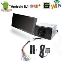 Универсальный автомобильный Радио 2 Din Android 8,1 10,1 ''Авто Стерео gps навигации головное устройство мультимедийный плеер Bluetooth/wi fi/AM/FM