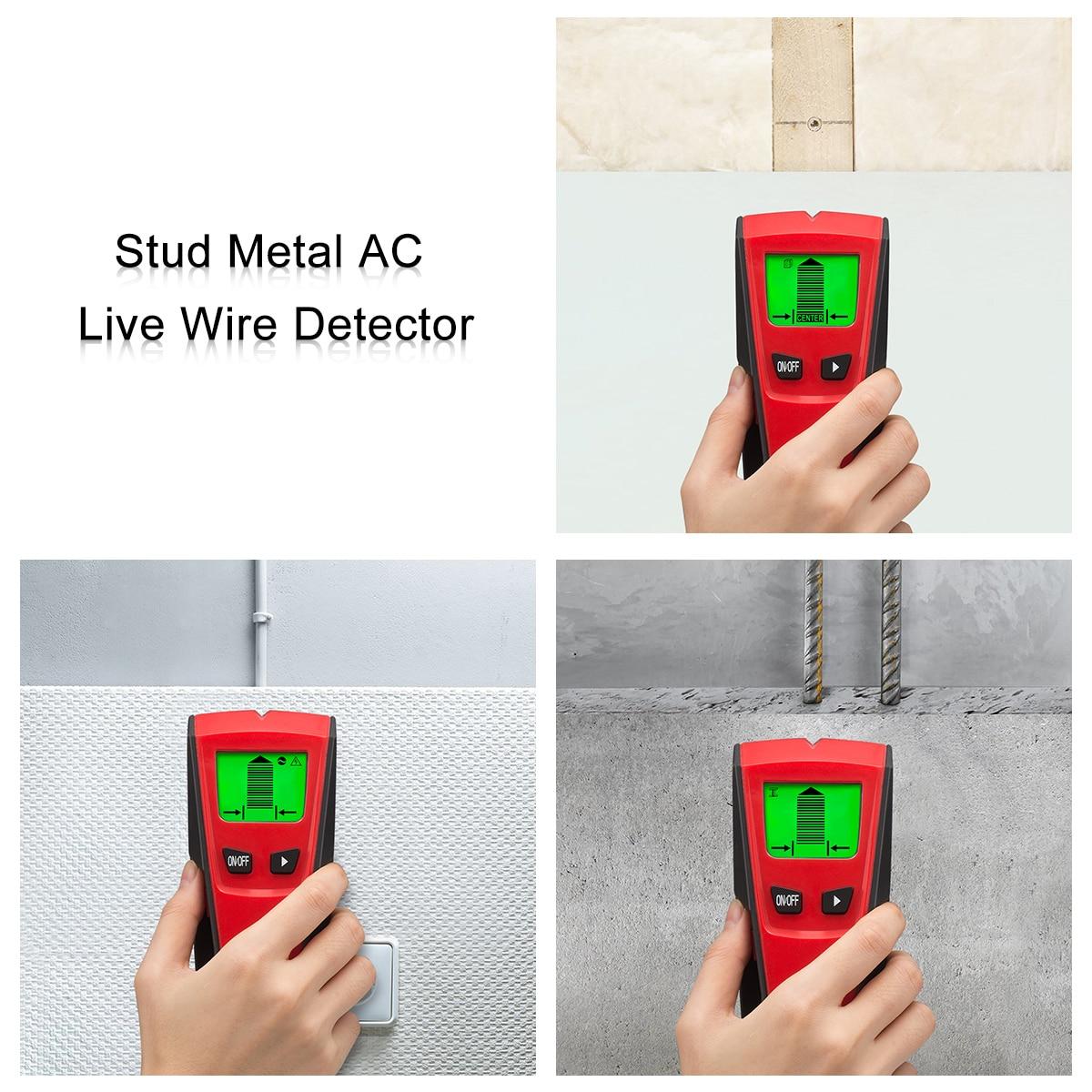 Welquic 3 In 1 Metalldetektoren Finden Metall Holz Studs AC ...