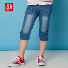boys summer pants kids jeans children trousers boys clothing light blue denim jeans boys clothes size 6-15t