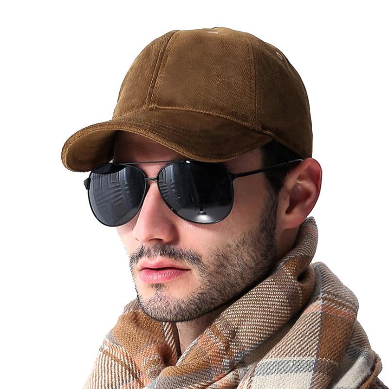 [AETRENDS] Marca de lujo de algodón de terciopelo gorras de béisbol - Accesorios para la ropa - foto 4