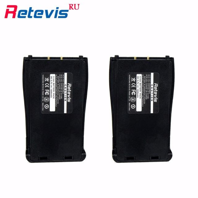2 pcs original 1500 mah bateria de iões de lítio dc 3.7 v para walkie talkie retevis h-777 bf-888s h777 baofeng 888 s moscou transporte local