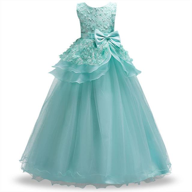 2018 Summer Kid Dresses For Girls Wedding Girl Clothes Wedding ...