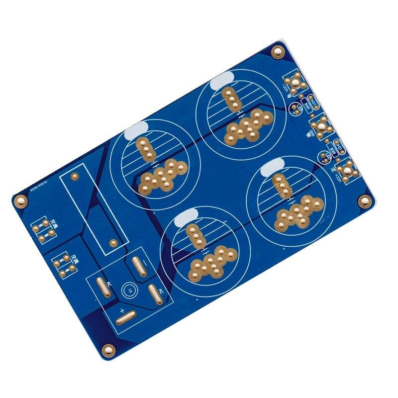 Fast Free Ship Power board KK-3 amplifier power filter plate bridge rectifier filter PCB with insurance tube position