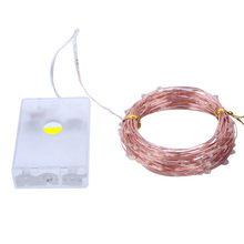 10m copper wire LED Fairy String lights AA battery Christmas tree Garland lighting for Holiday New Year Party Wedding Decoration agm 10m copper wire led string light garland 100led battery fairy light for christmas new year home decoration festival decor
