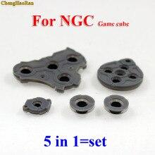 30 100 setleri Için NGC GC Silikon Düğmesi Yedek parça Kauçuk için Nintendo GameCube Oyun Bir B X Y kauçuk