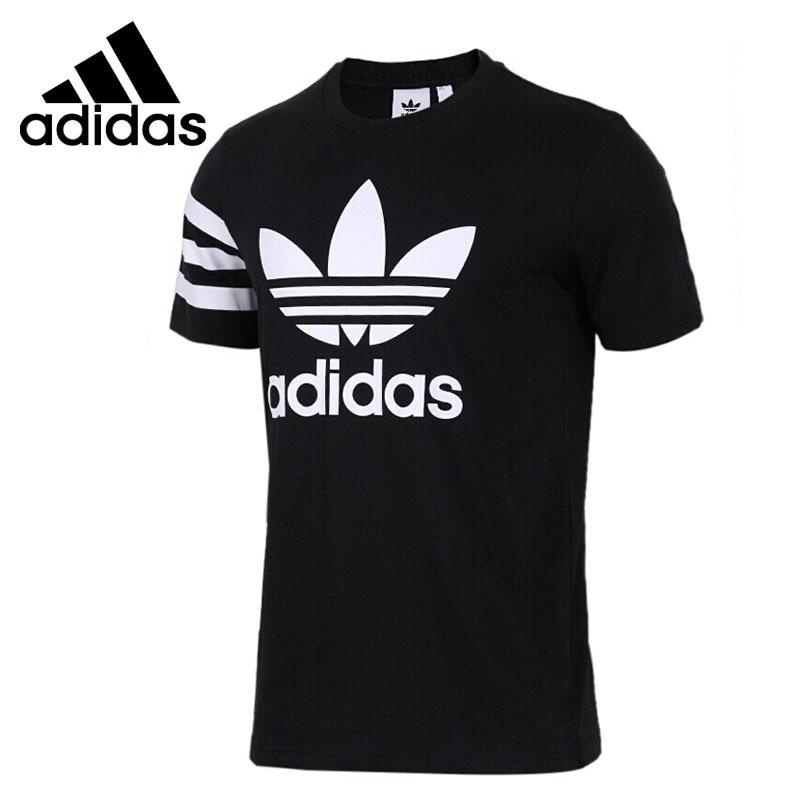 Original New Arrival Adidas Originals Men s T shirts short sleeve Sportswear