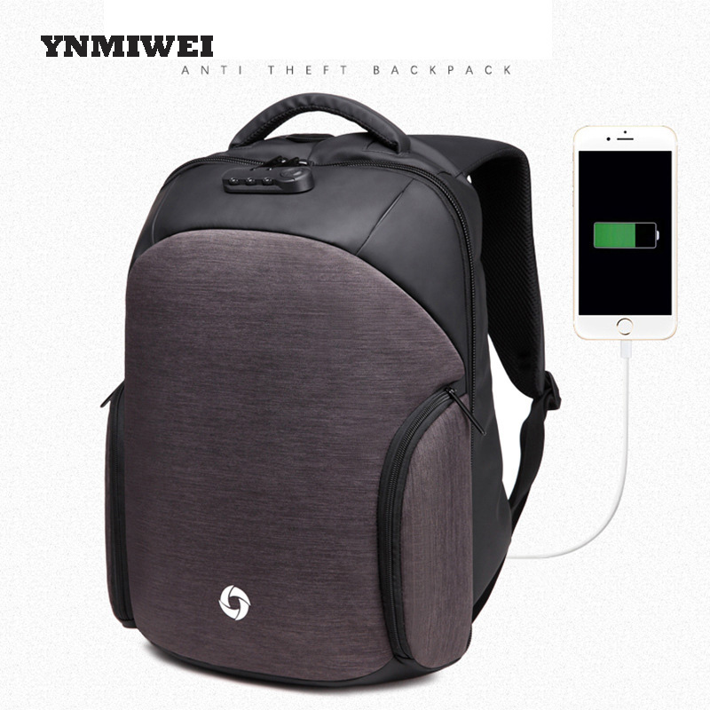 Laptop Anti Theft Backpack Men 2017 Notebook Bag For Macbook Pro For hp Laptop Capa Notebook Case Oxford Waterproof YNMIWEI