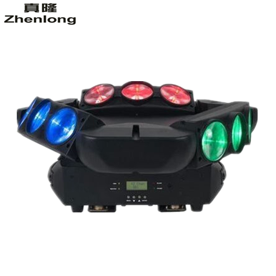 2017 New Arrival CREE MINI LED 9x10W Led Spider Light RGBW 16/48CH DMX Stage Lights Dj Led Spider Moving Head Beam Light 1pcs lot moving head lights led spider 9x10w rgbw 4in1 cree leds moving head beam lights good quality fast shipping