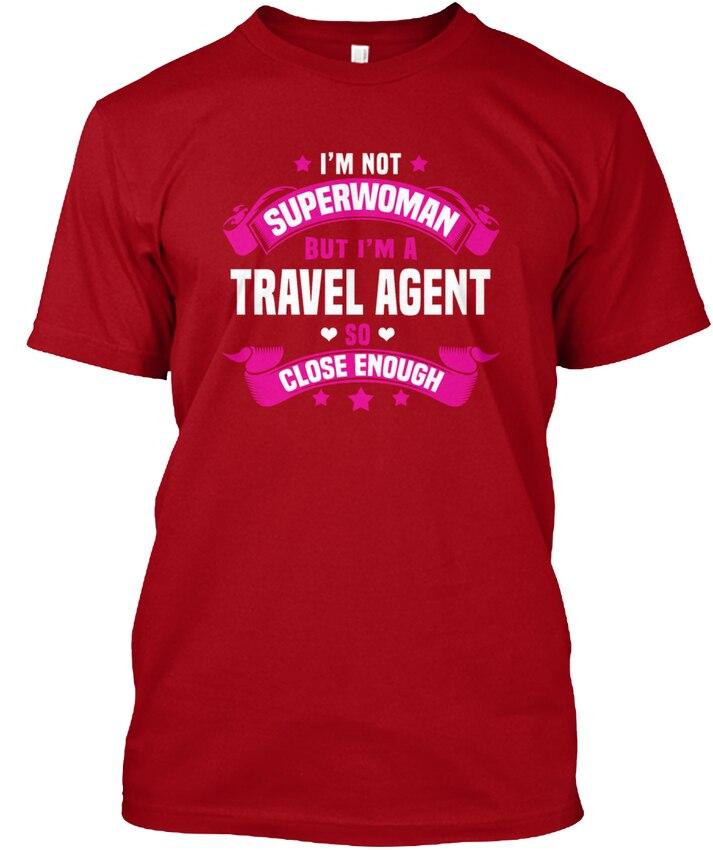 Travel Agent S Popular Tagless Tee T-Shirt ...