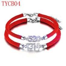 TYME nuevo llega la moda brazalete de la pulsera brazalete de color oro para pareja TYCB04