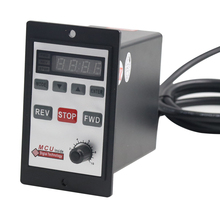 Double row A type interface 6W-200W motor digital display governor switch AC single phase US-52 high power motor controller 220V three phase clutch motor switch with power supply line industrial sewing machine motor switch