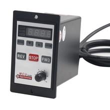 цена на Double row A type interface 6W-200W motor digital display governor switch AC single phase US-52 high power motor controller 220V
