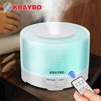 500ml Remote Control Ultrasonic Air Aroma Humidifier