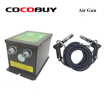 Efficient Electrostatic Remove Ionizing Air Gun Dusting Ionizer Blowers Static Eliminate