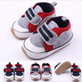 New Style Fashion Newborn Baby Unisex Kids Boys Prewalker Shoes Footwear Infant Toddler Soft Rubber Soled Anti-slip Outdoor Shoe