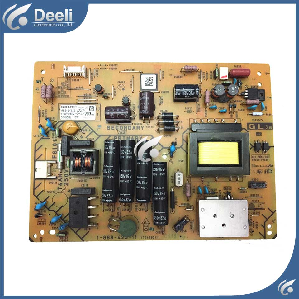 95% new original for Power Supply Board APS-348/B KLV-32R421A 1-888-423-11 working good new universal power board for mlt666t b bl bx mlt668 l1 l32n5 l32n6 l32n8 l32n9