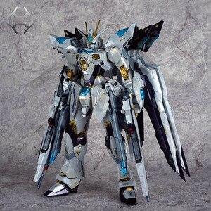 Image 2 - COMIC CLUB IN STOCK metalclub metalgear metal build MB Gundam strike freedom white color high quality action figure