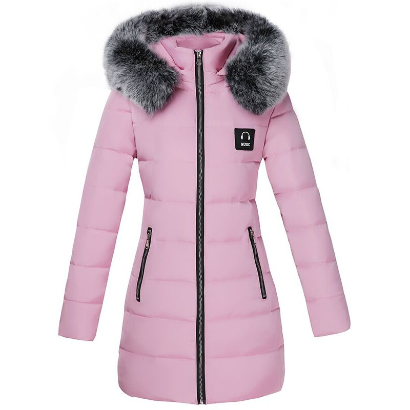 Winter Jacket Women 2017 New Fashion Thick Warm Slim Down Cotton Parkas Padded Long Hooded Nagymaros Fur Collar Outwer Coat 3XL 2015 fashion winter white duck down jacket warm nagymaros collar solid color outwear hooded slim long women coat winter dq514