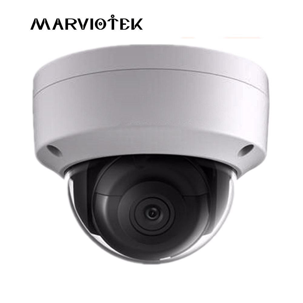 5MP English version DS-2CD2155FWD-IS Network mini dome ip Camera POE SD card AUDIO/alarm H.265+ IP67 IK10 surveillance camera in stock english version 5mp network cctv camera ds 2cd2152f is mini dome ip camera poe with audio
