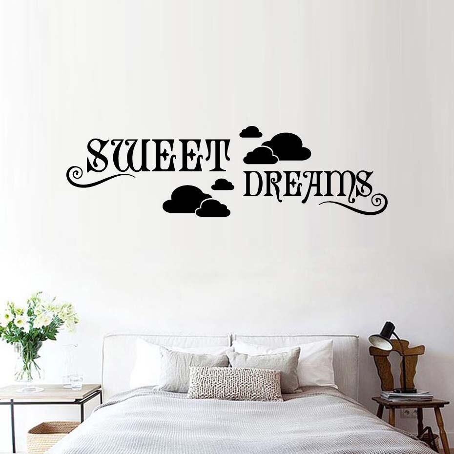 Aliexpress Buy Dctop Sweet Dreams Wall Sticker