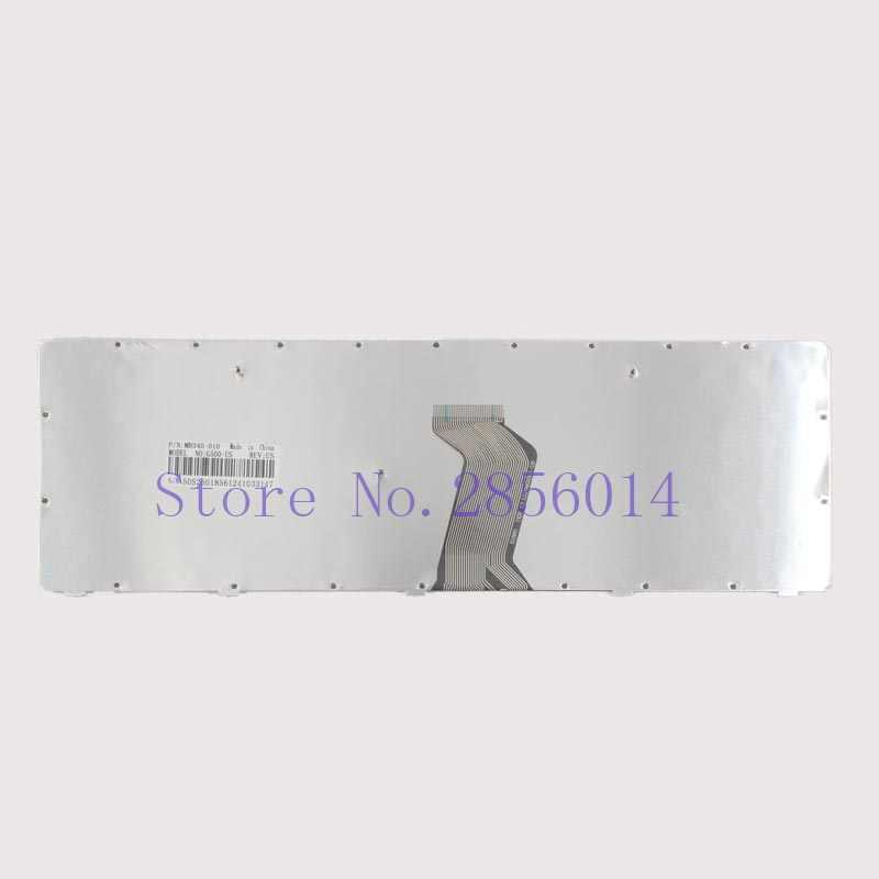 New EUA para Lenovo G500 G505 G510 G500A G505A G700A G700 G710 G710A G500AM G700AT Laptop Keyboard EUA 25210891 MP-12P83US-6861