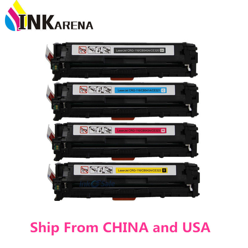 Compatible Color Toner Cartridge CB540A CB541A CB542A CB543A 126A for HP Color...