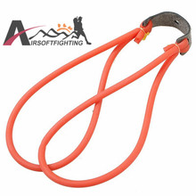 5pcs/lot Natural Latex Slingshots Rubber Tube Red Resilient Slingshot Band For Hunting Catapult Elastic Part Bungee Equipment