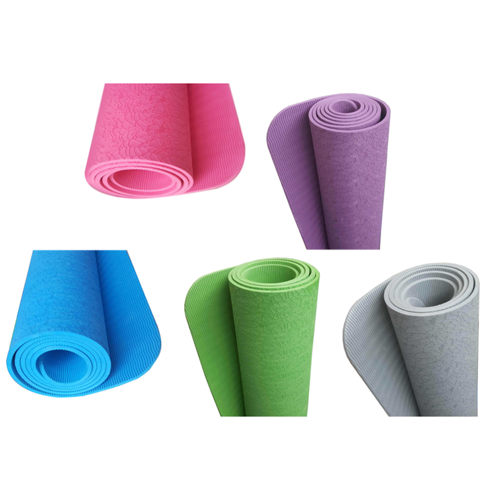 183 61 0 6cm TPE 3pcs Yoga Mat Sport Mat Non Slip Carpet Mat For Beginner Environmental Fitness Gym Home Tasteless Pad in Yoga Mats from Sports Entertainment