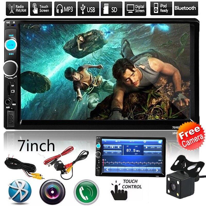 Cncool 7010G Car Radio 7 HD Autoradio Multimedia Player 2DIN Touch Screen Auto audio Car Stereo MP5 Bluetooth USB TF FM Camera
