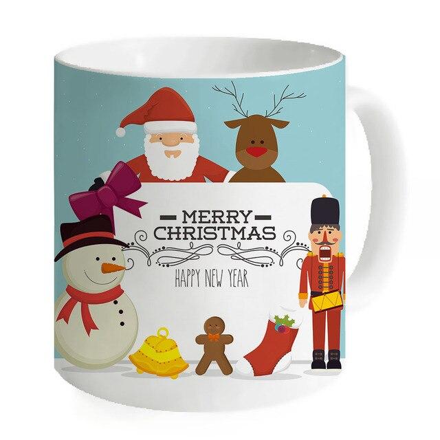 Simpatico cartone animato creativo tazze di caffè uomo