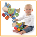 Милые Животные Осел Многоцелевой Ткань Книги Детские Познавательные Ткань Книги Новорожденный Платочек Детские Toys Детские мягкие Прорезыватель плюшевые Игрушки