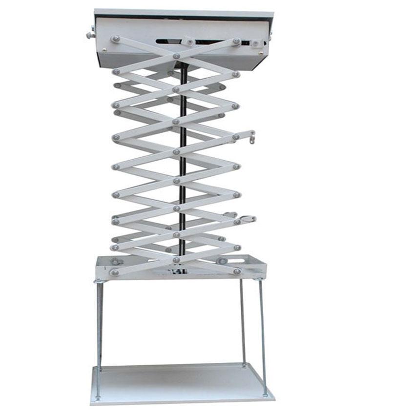 2 mètres motorisé électrique ascenseur ciseaux plafond projecteur support de montage ascenseur projecteur télécommande
