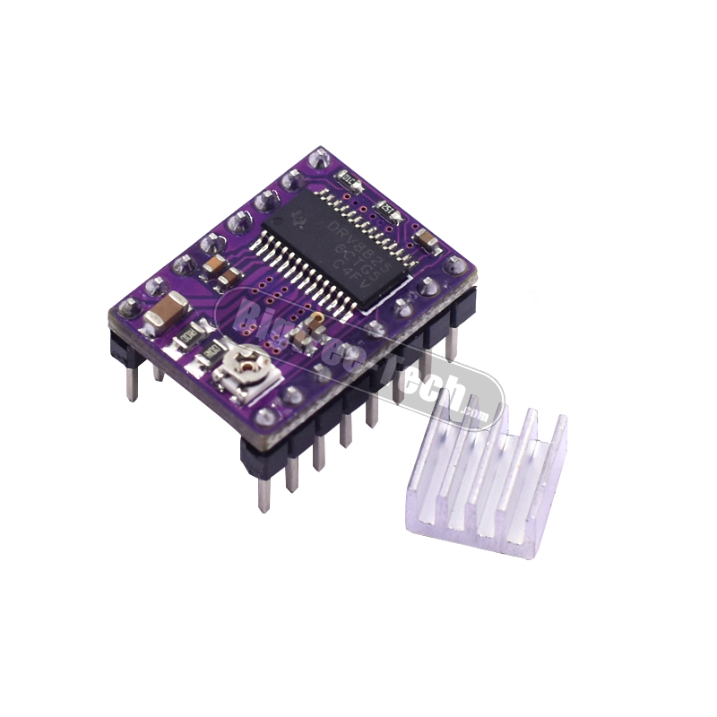 3D Printer Stepstick Drv8825 Stepper Motor Driver Reprap 4 PCB Board A4988 3D Printer kossel ultimaker
