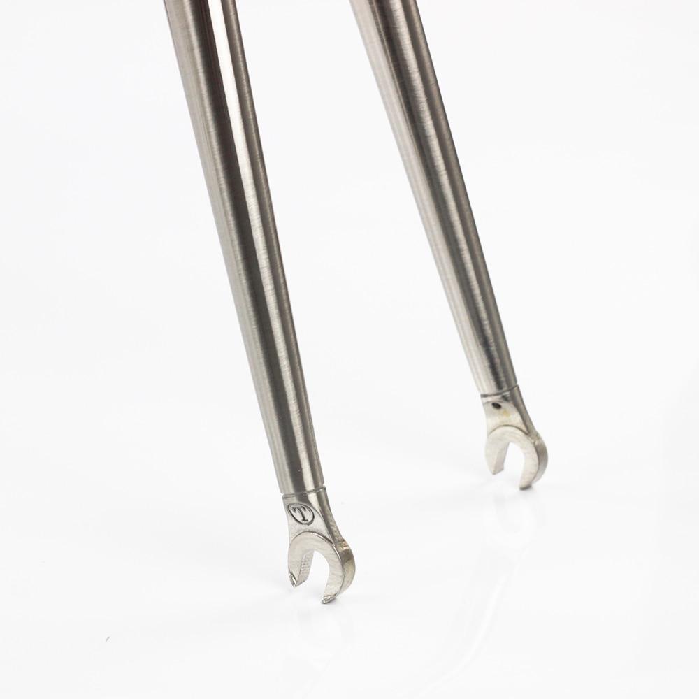 "TSUNAMI Reynolds 725 Road Bike Fork 700C Rigid Fork  28.6mm 1 1//8/"" Caliper Brake"