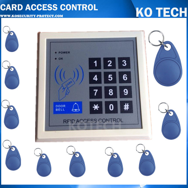 Home Security Rfid Proximity Entry Door Lock Access Control System