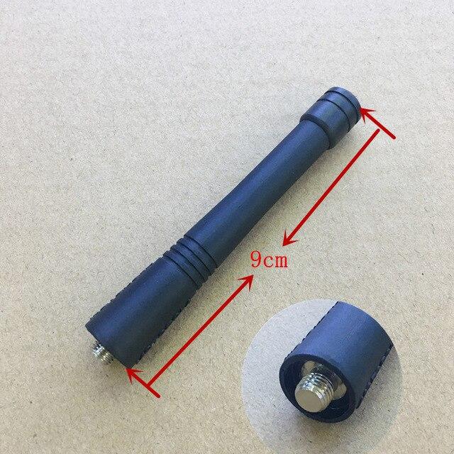 Short 9cm VHF 136-174MHZ Whip Antenna For Motorola EP450 PRO5150 GP328 GP338 GP340 GP88S GP2000 PTX 760 GP580 Etc Walkie Talkie