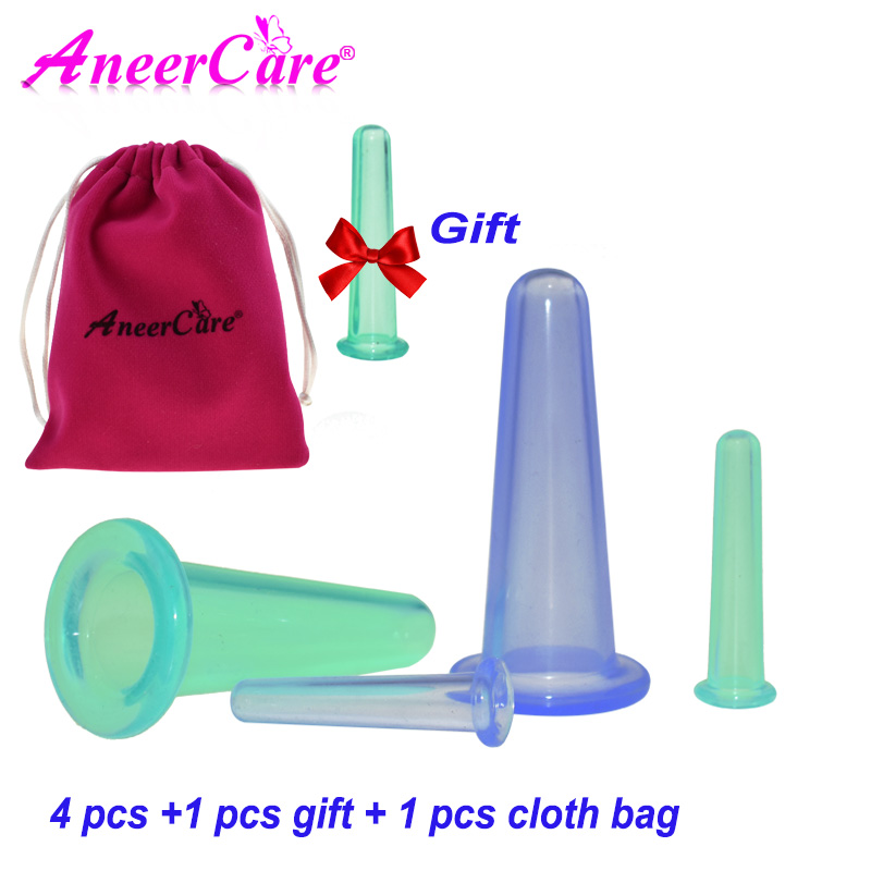 4 Pcs Massager Vacuum Cupping Set Health Monitors Product Cans Opener Pull Family Body Massage Helper Anti Cellulite Chinese Cup 1pcs family body massage helper anti cellulite vacuum silicone cupping cups health care relaxation massager drop shipping