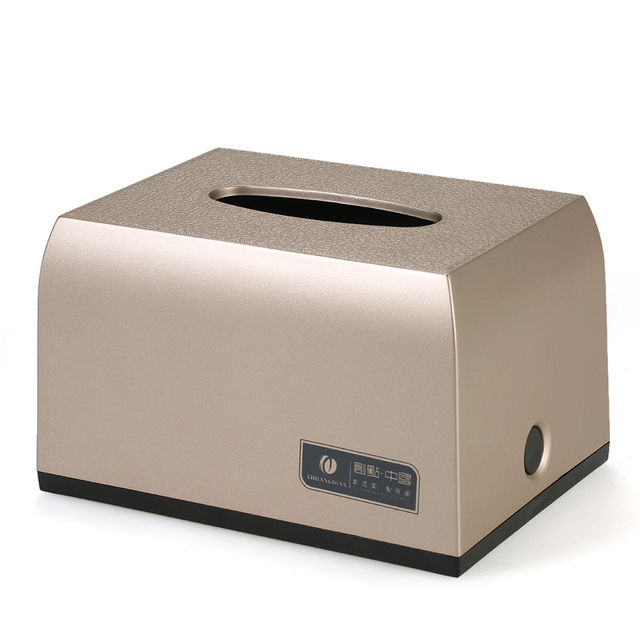 Hotel House Bathroom Facial Tissue Paper Dispenser Box Cover Napkin Holder  Towels Decorative Leather Texture Rectangle