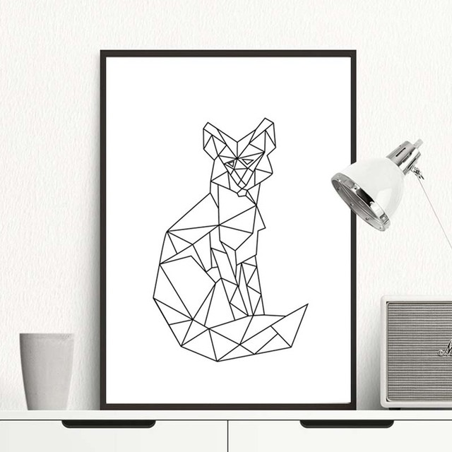 super interessant design nordic minimalistische triptychon. Black Bedroom Furniture Sets. Home Design Ideas