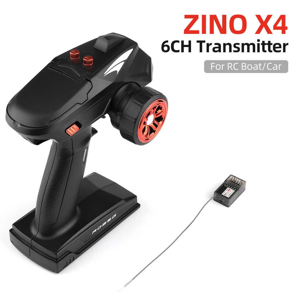 X4 RC トランスミッタ 2.4 グラム 4CH 6CH ラジオコントローラ 400-500 メートル制御距離レシーバー用 Rc ボート VS GoolRC TG3