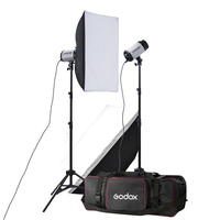 Gratis schip dhl pro godox 250 w 250DI studio strobe photo flash light lamp 250 watts voor portret mode bruiloft art fotografie