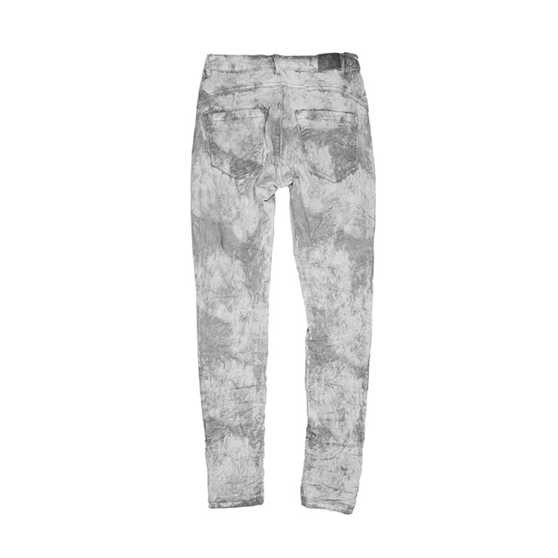 My Will Jeans The Latest Cold Wash Loose Pants Belt Button Pants Fashion 567g Made In China