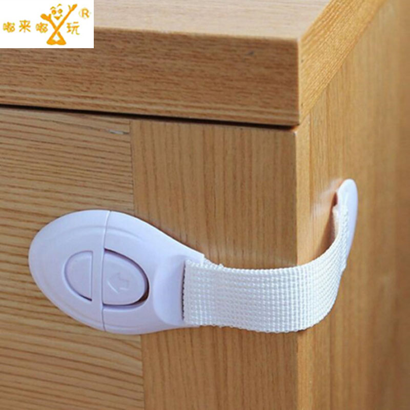 10 Pcs/Pack New Cabinet Door Drawers Refrigerator Toilet Lengthened Bendy Safety Plastic Locks For Child Kid Baby Safety
