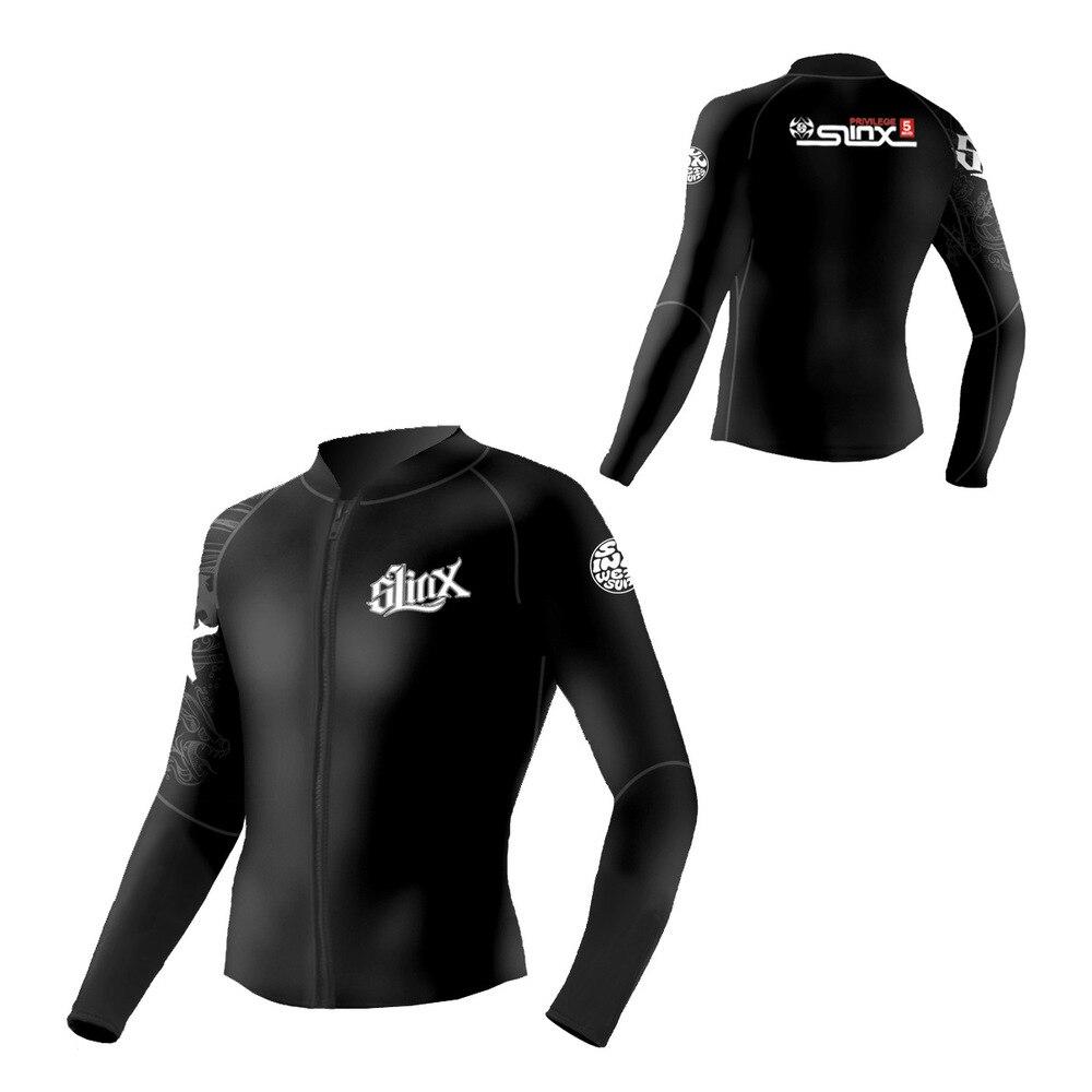 Slinx 5mm Neoprene Dive Jacket Close body Wetsuit For Women Men Surfing Swimwear Waterski Water Craft