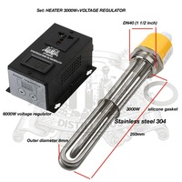 3 0 KW 6 0kW 220 380V DN40 Heater For Tank Electric Water Heater Heater Element
