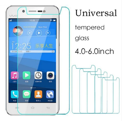 Universal Tempered Glass 4.0 4.3 4.5 4.7 5.0 5.3 5.5 5.7 6.0inch Screen Protector film For Senseit /TP-Link/Uhans /Wileyfox