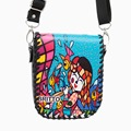 Purchase BRITTO Messenger Bags PU Shoulder Diagonal Small Square Package For Phone Purse Grils Mini Graffiti Clutch Bag