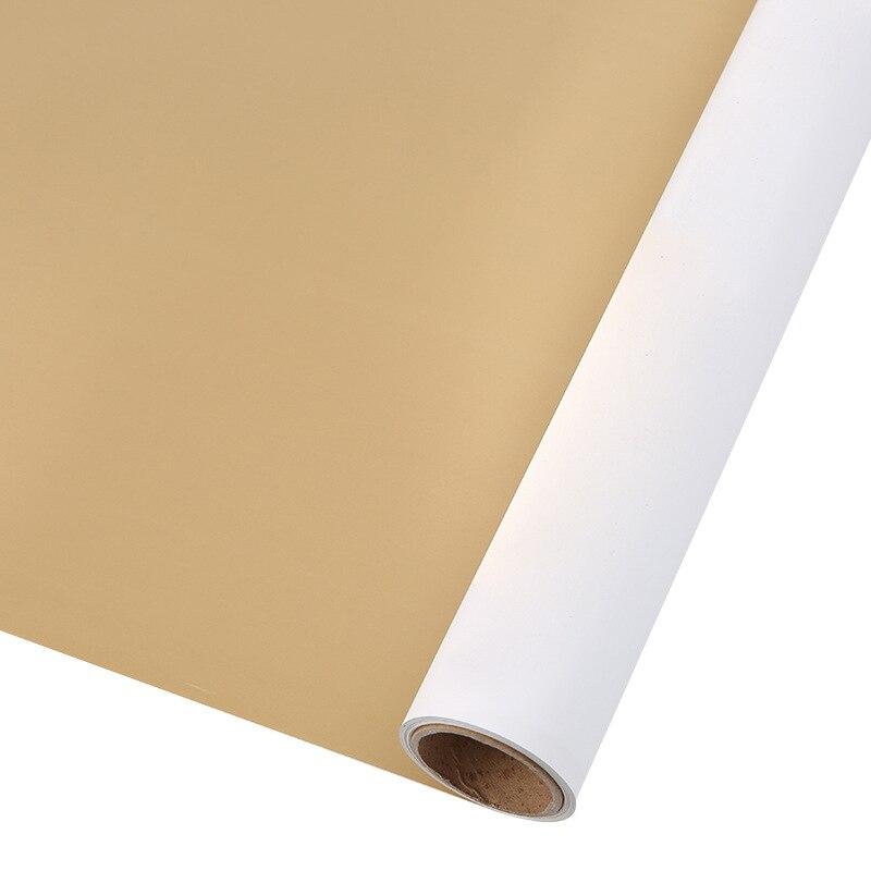 60 см* 10 м/рулон конфеты цвет цветок оберточная бумага Роза свадебная бумага для украшения на рождество упаковка букета материал - Color: N5